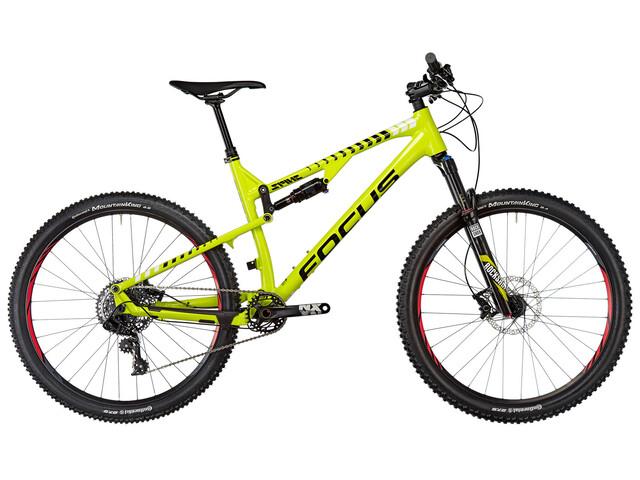 "2. Wahl: FOCUS Bikes Spine Evo 27"" limegreen (white)"